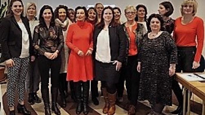 Vorstandswahl Frauen Union MV